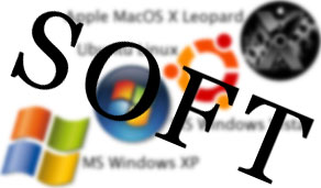 Софт под Apple Mac OS X, Linux Ubuntu, Windows XP, Windows Vista